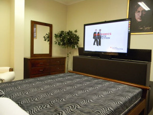 Tv-Bed-upholstered